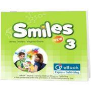 Curs Lb. Engleza Smiles 3 ieBook, Virginia Evans, Express Publishing