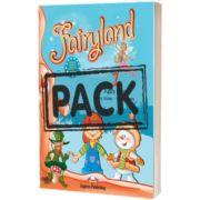 Curs limba engleza Fairyland 1 Pachetul elevului (Manual + DVD), Jenny Dooley Express Publishing