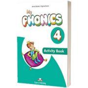 Curs limba engleza My Phonics 4 Caietul elevului cu cross-platform app, Jenny Dooley, Express Publishing