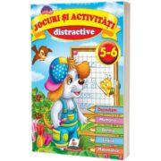Jocuri si activitati distractive 5-6 ani