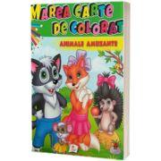 Marea carte de colorat: Animale amuzante
