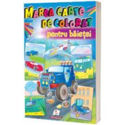 Marea carte de colorat pentru baietei