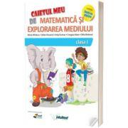 Matematica si explorarea mediului. Caiet pentru clasa I. (Varianta - EDP 2 Balan, Voinea, Andrei, Stan)