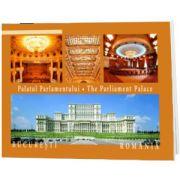 Palatul Parlamentului. Text in limba Romana-Engleza-Franceza-Germana-Italiana-Spaniola