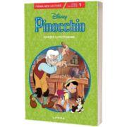 Pinocchio. Poveste cu pictograme. Citesc cu ajutor (Nivelul 1)