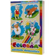 Privim si coloram animale domestice
