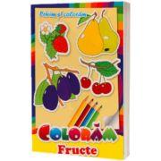 Privim si coloram fructe