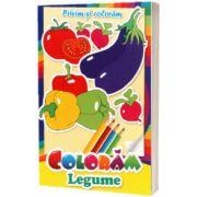 Privim si coloram legume