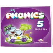 Curs de limba engleza My Phonics 5 Set 2 Audio-CD, Jenny Dooley, Epress Publishing