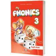 Curs limba engleza My Phonics 3 Manual cu cross-platform App, Jenny Dooley, Express Publishing