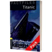 Oxford Bookworms Library Factfiles Level 1. Titanic audio CD pack, Tim Vicary, Oxford University Press