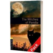 Oxford Bookworms Library Level 1. The Witches of Pendle audio CD pack, Rowena Akinyemi, Oxford University Press