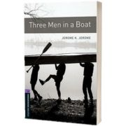 Oxford Bookworms Library Level 4. Three Men in a Boat, K. Jerome Jerome, Oxford University Press