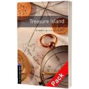 Oxford Bookworms Library Level 4. Treasure Island audio CD pack, Robert Louis Stevenson, Oxford University Press