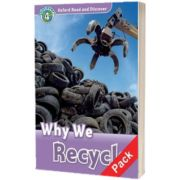 Oxford Read and Discover Level 4. Why We Recycle Audio CD Pack, Fiona Undrill, Oxford University Press