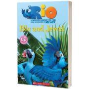 Rio. Blu and Jewel, Fiona Davis, SCHOLASTIC