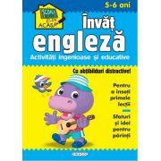 Scoala acasa - Invat engleza (5-6 ani), Girasol
