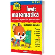 Scoala acasa - Invat matematica (3-4 ani), Girasol