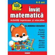 Scoala acasa - Invat matematica (4-5 ani), Girasol