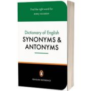 The Penguin Dictionary of English Synonyms and Antonyms, Rosalind Fergusson, PENGUIN BOOKS LTD