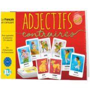 Adjectifs et contraires level A1-B1, ELI