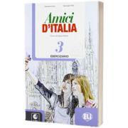 Amici d Italia 3. Eserciziario, Elettra Ercolino, ELI