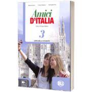 Amici d Italia 3. Libro dello studente, Elettra Ercolino, ELI
