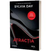 Atractia, primul roman din seria Crossfire, Sylvia Day, Litera