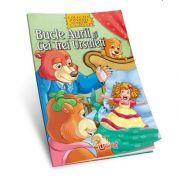 Bucle Aurii si cei trei ursuleti - Povesti de colorat