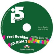 Curs imba engleza Incredible 5. 3 Teste booklet cd-rom, Jenny Dooley Express Publishing