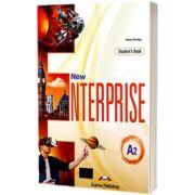 Curs limba engleza New Enterprise A2 Manual cu Digibook App, Jenny Dooley, Express Publishing