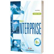 Curs limba engleza New Enterprise B1+. Manualul Profesorului, Jenny Dooley, Express Publishing