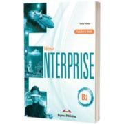 Curs limba engleza New Enterprise B2. Manualul Profesorului, Jenny Dooley, Express Publishing