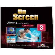 Curs limba engleza On Screen 3 Material aditional pentru Profesor Teste CD, Jenny Dooley, Express Publishing
