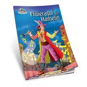 Fluierasul din Hamelin. Carte de colorat si poveste (Colectia Creionul fermecat)