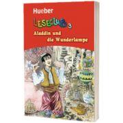 Aladdin und die Wunderlampe Leseheft, Sigrid Xanthos, HUEBER
