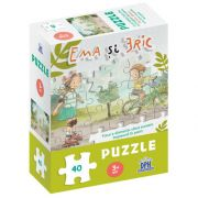 Ema si Eric in parc - puzzle, Ioana Chicet Macoveiciuc, DIDACTICA PUBLISHING HOUSE