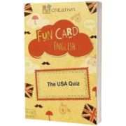 Fun card English The USA Quiz, CREATIVO