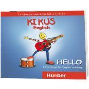 Kikus Englisch Audio-CD. Hello, Edgardis Garlin, HUEBER