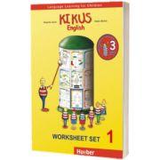 Kikus Englisch Worksheet Set 1 Language Learning for Children, Edgardis Garlin, HUEBER