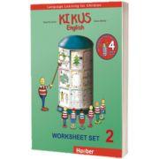 Kikus Englisch Worksheet Set 2 Language Learning for Children, Edgardis Garlin, HUEBER