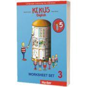 Kikus Englisch Worksheet Set 3 Language Learning for Children, Edgardis Garlin, HUEBER