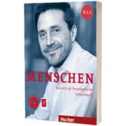 Menschen A2. 1. Arbeitsbuch mit Audio-CD, Anna Breitsameter, HUEBER