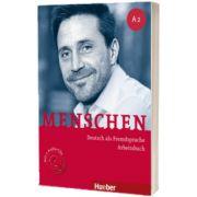 Menschen A2. Arbeitsbuch mit 2 Audio-CDs, Anna Breitsameter, HUEBER