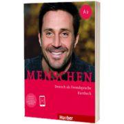 Menschen A2. Kursbuch mit Audio-Download, Charlotte Habersack, HUEBER