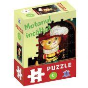 Motanul incaltat - puzzle, DIDACTICA PUBLISHING HOUSE