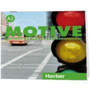 Motive A2. Audio CDs zum Kursbuch, Lektion 9-18 Kompaktkurs DaF, Wilfried Krenn, HUEBER