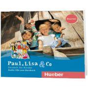 Paul, Lisa und Co Starter 2 Audio CDs, Manuela Georgiakaki, HUEBER
