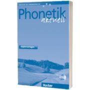 Phonetik aktuell. Kopiervorlagen mit 2 Audio CDs, Gerhard J. S. Bunk, HUEBER