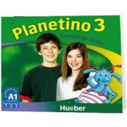 Planetino 3. 3 Audio CDs zum Kursbuch Deutsch fur Kinder, Gabriele Kopp, HUEBER
